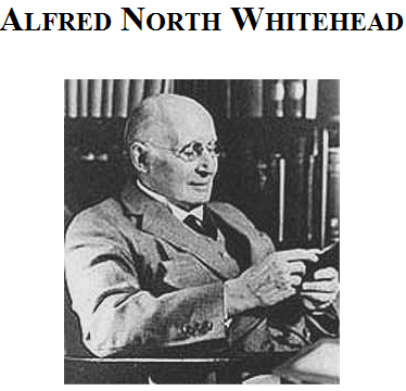 alfred north whitehead 1