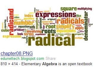 algebra radicals 3