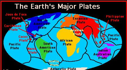 earth geology plates