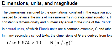 gravity-constant